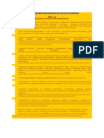 Syllabus for Written Examination For