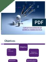 Química Farmcéutica Conceptos básicos