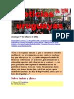 Noticias Uruguayas viernes 17 de Febrero de 2012