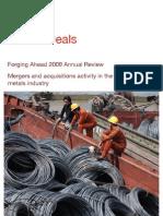 Metals Deals Forging Ahead 2009 Annual Review