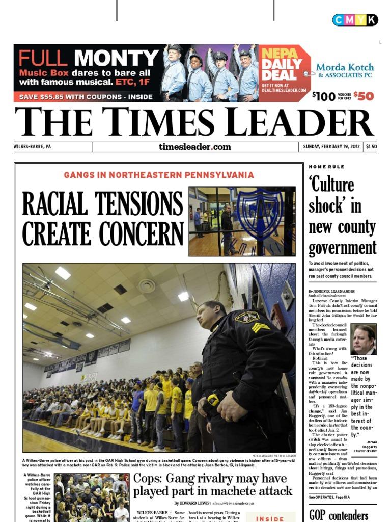 Times Leader 02 19 2012 Copyright Infringement Bashar Al Assad Wiring Wizards Rehoboth Beach