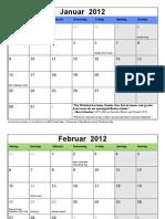 12 Kalender All