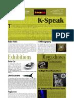 K-Speak - Kshitij 2010