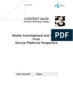 Best Paper - 04-53 CONTEST Mobile Advertisement and Search From a Service Platforms Perspective