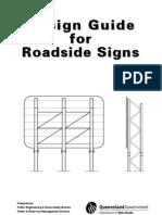 1.Design Guide for Roadside Signs Manual (PDF, 4.8 MB)