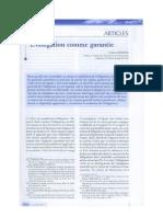 Obligation comme Garantie -- F. Rouviere -- RTD civ. 2011, p.1.