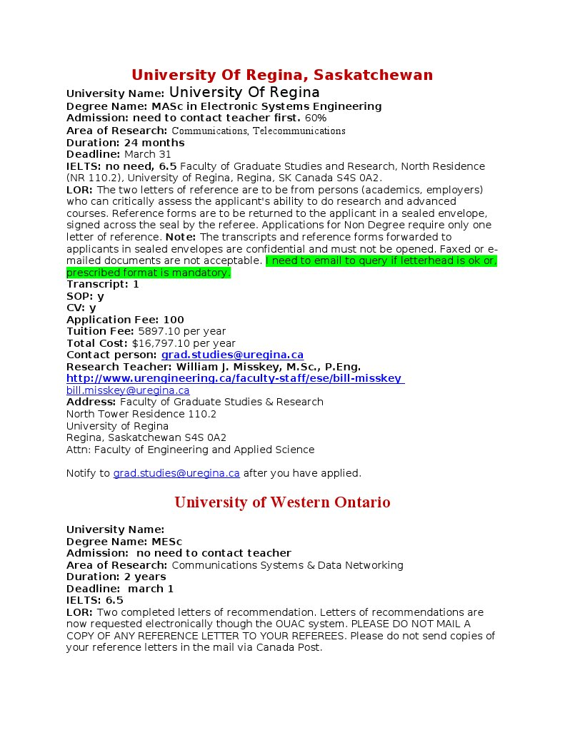 22122011 Admission Canada University And College Admission