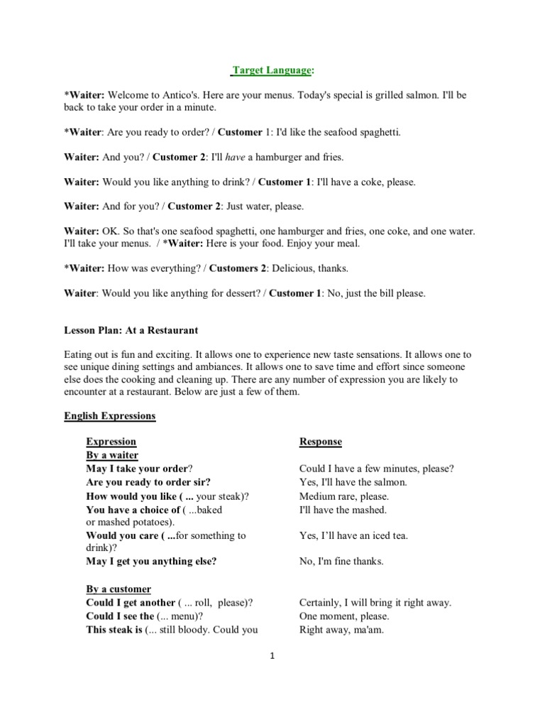 application letter for waitress english conversations for waiters waiting staff restaurants - Waitress Cover Letter Sample