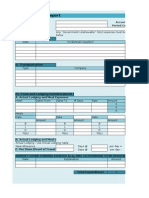Travel Expense Form-Detailed 2