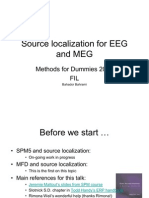 Source Localization for EEG and MEG