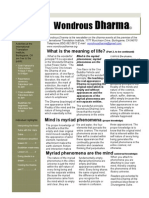 Wondrous Dharma Issue 24 - March 2012