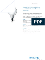 Lampu Philips Ambiance Globe 337044