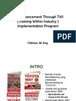 Training Within Industry (TWI) dan implementasinya