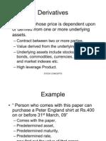 Basic of Derivatives (1)