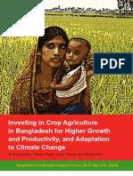 IFPRI - 2010 Investing Agric Bangladesh Report Incl CC