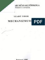 mechanizmusok jegyzet