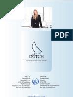 Dutch Trans Translation Brochure