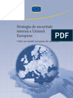 Strategia de Securitate Interna a UE