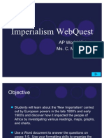 Imperialism WebQuest NEW