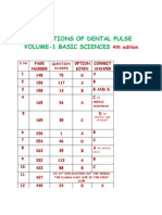 Corrections of the Dental Pulse Volume-1 Basic Sciences 4th Edition