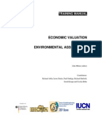 3465_Economic Valuation and Environmental Assessment (Training Manual)