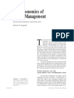 Snigaroff Economics Active Management JPM 2000
