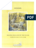 BOOK - Genesis - Selling England by the Pound