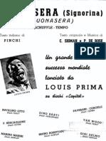 Louis Prima - Buonasera Signorina) - C_sigman - Sheet Music