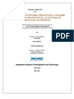 Project Report on b2b Industry-Indiamart Intermesh