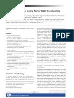 trombofília protokoll