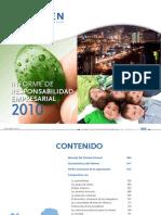 Informe Re 2010 Isagen
