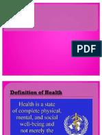 Presentation on Health
