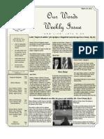 Newsletter Volume 3 Issue 51