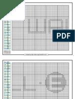 Cross Stitch Pattern Wall E and Eve PDF
