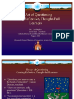 The Art of Questioning - Formatting Checked