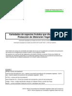 Listado Protecciones TOV_2012_1