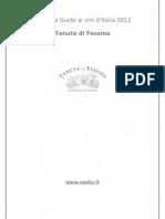 Raccolta Guide Ai Vini 2012_Tenuta Di Fessina