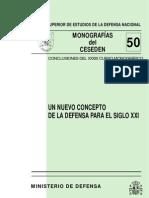 Nuevo Concepto Defensa SXXI CESEDEM Informe