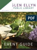 Glen Ellyn Public Library Spring 2012 Event Guide