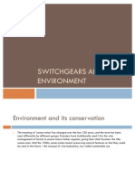 Switch Gears and the Environment