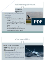 Sustainable Strategic Position