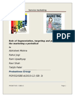 Role of Segmentation(1)