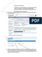 How to Use Zymic