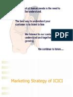 Final Marketing Strategy ICICI