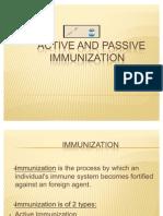 Immunization