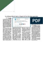 Reportaje Reforma laboral 2012