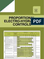 Proportional Electro-hydraulic Controls