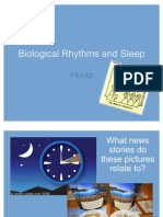 Biological Rhythms and Sleep 2011