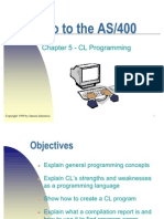 Rev Chapter 5 - C L Programming