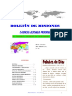 BOLETIN DE MISIONES 20-02-2012